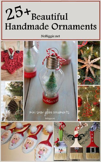 25+ Beautiful Handmade Ornaments