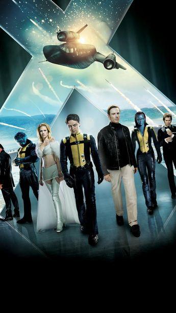 X-Men: First Class (2011) Phone Wallpaper