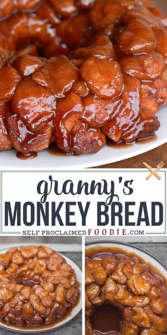 Granny's Monkey Bread Recipe | Self Proclaimed Foodie