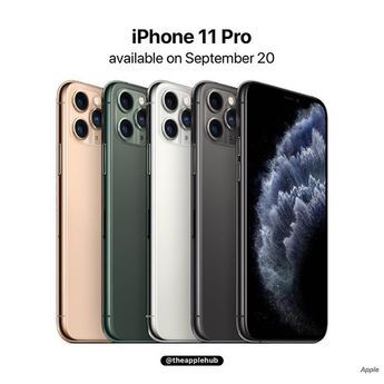 """🍎Appledroidr🍎 on Instagram: """"[BREAKING] Apple has unveiled the iPhone 11 Pro and iPhone 11 Pro Max featuring an all new Super Retina Display XDR, 12MP triple lens…"""""""