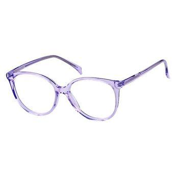 47140fb6b665 Zenni Womens Cat-Eye Prescription Eyeglasses Purple Plastic 662817  #fashioneyeglasses