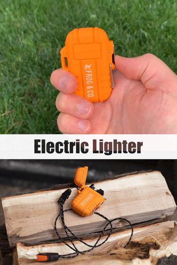 Tough Tesla Lighter 2.0 – Outdoor Waterproof Dual Arc Plasma Lighter by Frog & CO