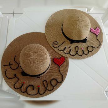 Sombrero de playa de nombre sombrero paquete del por HatsByOlivia. More  Details. KARLA ROBLES Pinterest Account. KARLA ROBLES  karlarobless95. 4w 0 9bdc455cae5