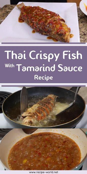 Thai Crispy Fish With Tamarind Sauce