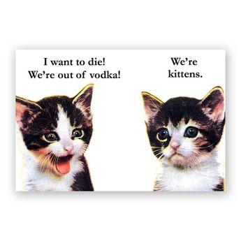 Vodka Kittens Magnet