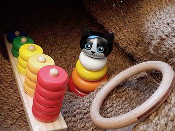 Premiers jouets de bois