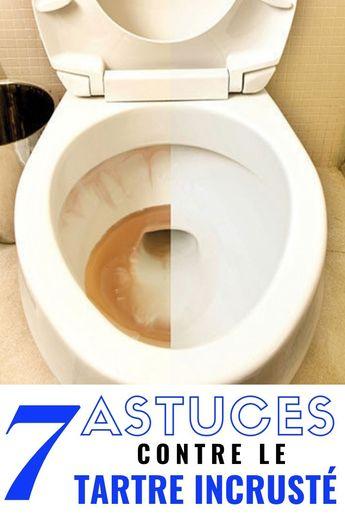 Découvrez 7 manières de lutter contre le tartre incrusté dans les toilettes