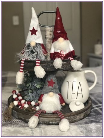 20 christmas gnome ornaments a quick, adorable craft 00006