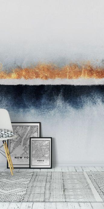 Horizon01 Wall Mural / Wallpaper Abstract