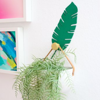 Banana Leaf DIY Wall Hook Kit