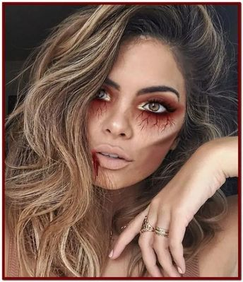 117+ marvelous women makeup ideas to welcome the halloween celebration 18 ~ thereds.me