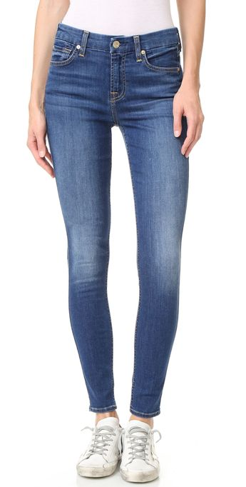 c04bc31eaab3 7 For All Mankind b(air) Ankle Skinny Jeans