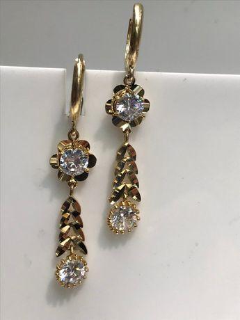 Vintage Swarovski Crystal Flower Gold Pearl Earrings - Pink 0ec23369a784