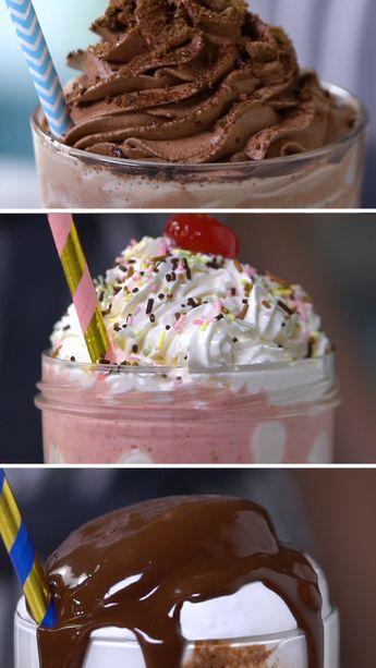 Confira a receita de 3 Receitas de Milkshake do Tastemade Brasil