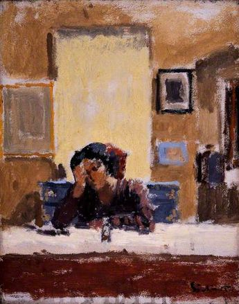 The Mirror.  Walter Richard Sickert. Manchester City Galleries.