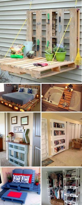 Kitchen DIY Pallet Design Ideas