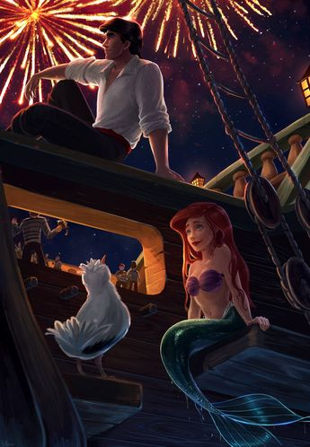 I know this is The Little Mermaid, but still a issuable idea
