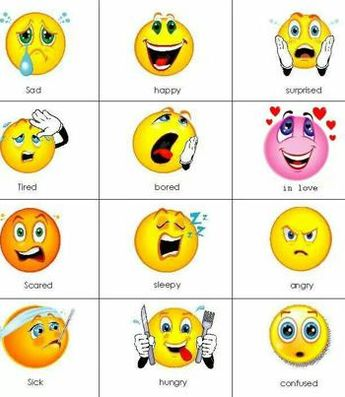 Emotions in English