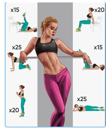 5 Simple Exercises That Will Transform Your Body in Just 4 Weeks 👈 #fitness #gym #diet