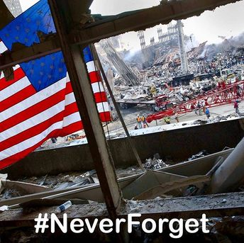 #NeverForget