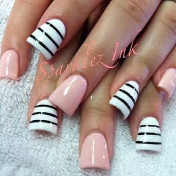 The Duckbill Nails But Colors Are Cute
