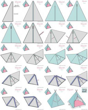 Fabric Wigwam Tutorial