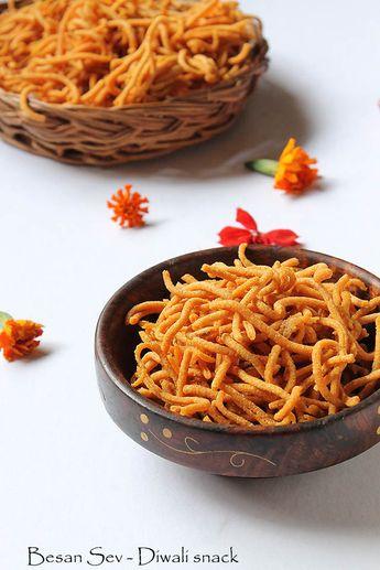 Besan Sev - Diwali Snack
