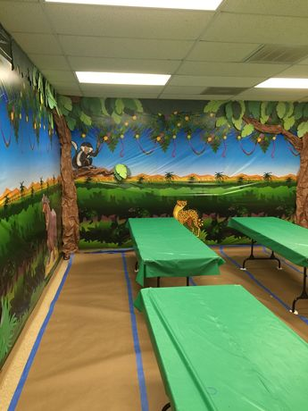 Craft Room, Camp Kilimanjaro VBS (Community Bible Church, Irving, TX)