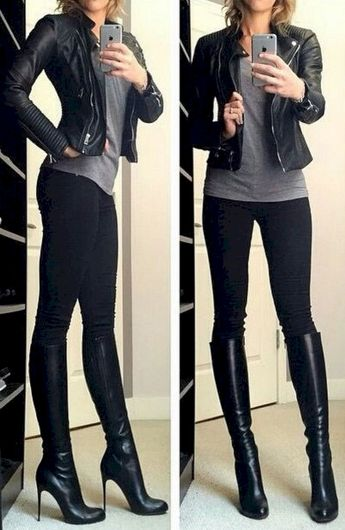 Top 29 Cute Chic Women's Leggings Outfits Ideas