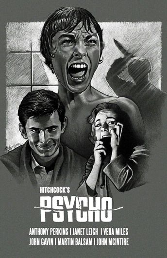 The American movie Psycho became immensely popular. The movie is still a classic today. Most people in America have heard or even seen this movie.