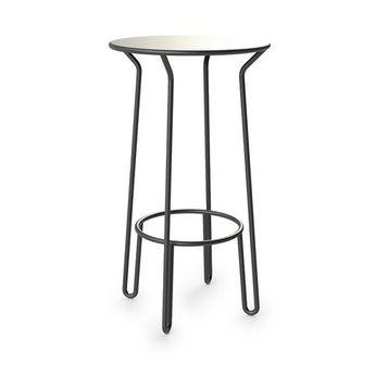 ffbfecc26325 Como White Marble Coffee Table - Stainless Steel