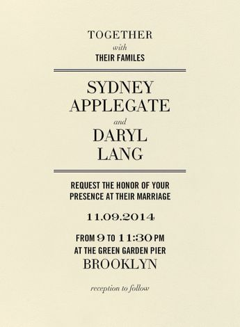 breeze wedding invitation design