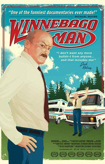 Winnebago Man Jack Rebney Movie Poster 11x17