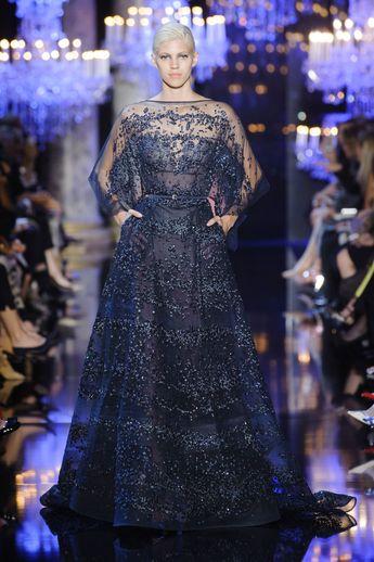 Défilé Elie Saab Automne-hiver 2014-2015 Couture