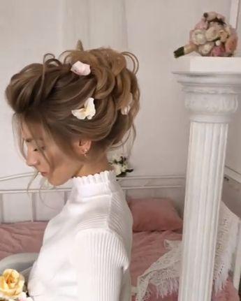 #wedding #braid #bride #weddinghair #hair #hairstyle #haircolor #haircut #hairtutorial #weddinghair #bridehair