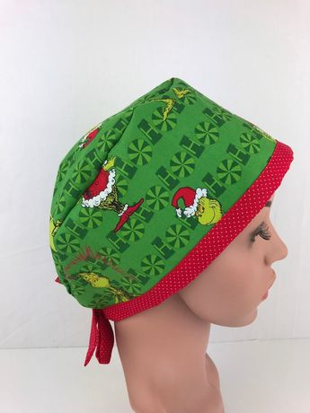 Excited to share this item from my  etsy shop  Christmas Grinch Pixie Surgical  Scrub 3c5e7f84c1d4