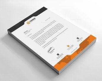 Premium Letterhead Example - Graphic Templates