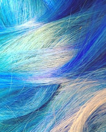 #bluehair #mermaidhair #sparkscolor #overtonecolor