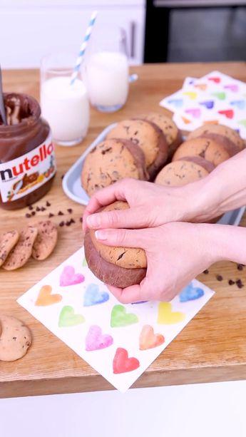 L'alliance entre la brioche et le cookie au Nutella pour le goûter, comment y résister ?