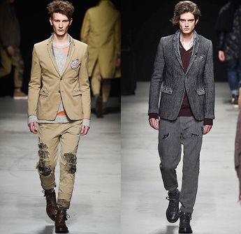 524246a4577 MIHARAYASUHIRO 2015-2016 Fall Autumn Winter Mens Runway Catwalk Looks -  Mode à Paris Fashion