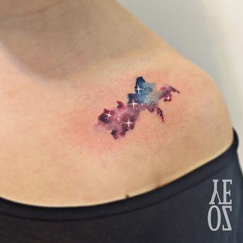 // mini galaxy 👽 #yelizozcan #tattoobyyelizozcan #tattooer #tattooist #instatattoo #ink #inked #tattooartist #tattoodesing #tattooart…