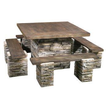 Tremendous Patio Sets Customarchery Wood Chair Design Ideas Customarcherynet