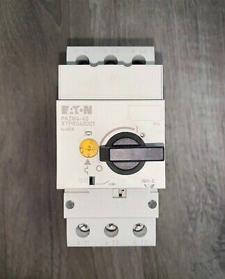(Sponsored)(eBay) Brand New!!! Eaton Cutler Hammer Motor Protection Circuit Breaker (#PKZM4-40)