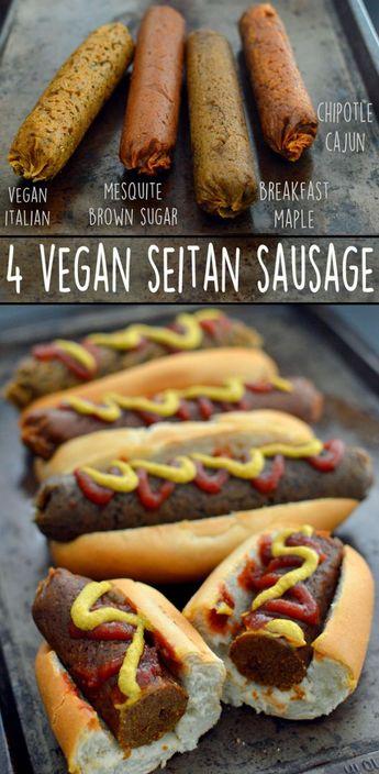 4 Vegan Sausage Recipes – Seitan