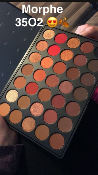Makeup Morphe 35 O2