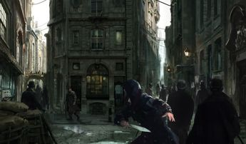 The concept art behind Assassin's Creed Syndicate's beautiful Victorian London