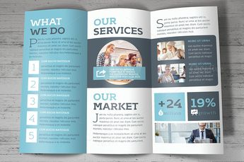 Brochure on Creative Market (inspiration)