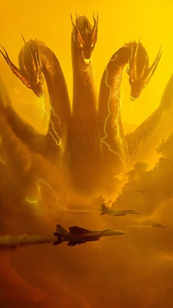 Wallpaper Godzilla King of the Monsters iPhone