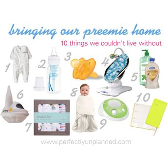 """Bringing A Preemie Home - Must Haves"""