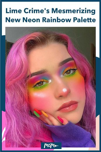 Lime Crime's New Venus Palette Is A Neon Rainbow Fever Dream